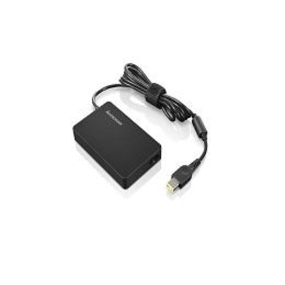 Lenovo ThinkPad 65W Slim AC Adapter, UK & Ire Netvoeding - Zwart