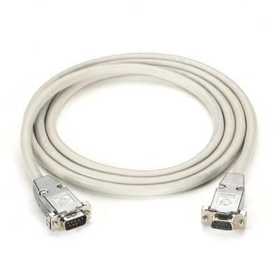Black Box DB9/DB9, 6-ft Seriele kabel - Grijs