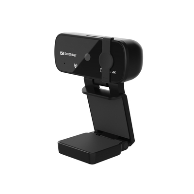 Sandberg USB Pro+ 4K Webcam - Zwart
