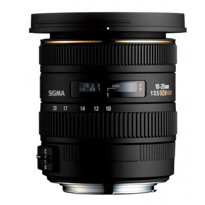 Sigma camera lens: 10-20mm f/3.5 EX DC HSM PENTAX