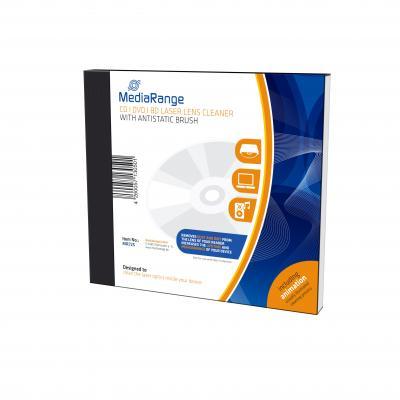 Mediarange reinigingskit: CD|DVD|BD Laser Lens Cleaner with antistatic brush