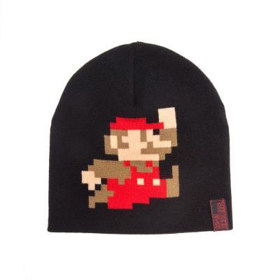 Nintendo game: - Super Mario Beanie / Muts (Zwart)