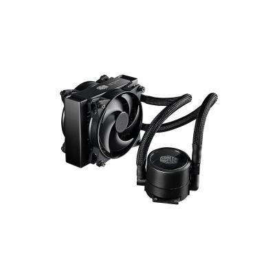 Cooler master water & freon koeling: MasterLiquid Pro 140 - Zwart