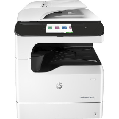 HP PageWide 777z Multifunctional - Zwart, Cyaan, Magenta, Geel - Refurbished B-Grade