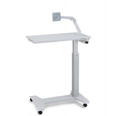 "Ergotron multimedia kar & stand: StyleView Patient eTable, 20.066 cm (7.9 "") - 13"", white - Wit"