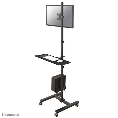 Neomounts by Newstar mobiele werkplek Multimedia kar & stand - Zwart