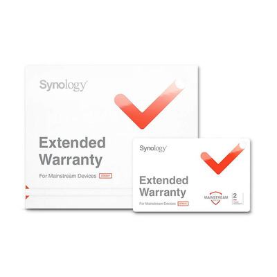 Synology 5 jaar-uitbreiding exclusief artikel service excluding disks Garantie