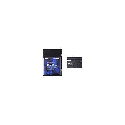 Canon AV casette: High Definition miniDV Cassettes HDVM-E63PR