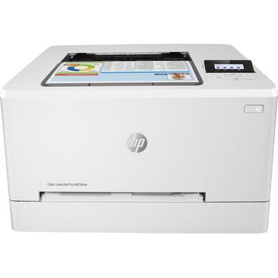Hp laserprinter: LaserJet Color LaserJet Pro M254nw - Zwart, Cyaan, Magenta, Geel