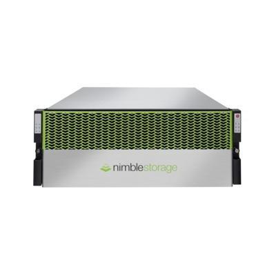 Hewlett packard enterprise Nimble Storage CS1000H SAN - Zwart, Groen, Zilver