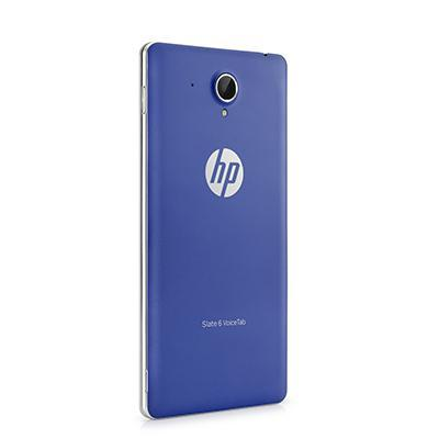 Hp tablet case: Blauw batterijdeksel voor Slate 6 VoiceTab