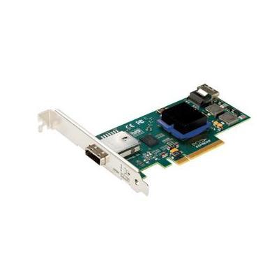 Atto Low-Profile 4-Internal/4-External Port 6Gb/s SAS/SATA - PCIe 2.0 Host Adapter Interfaceadapter