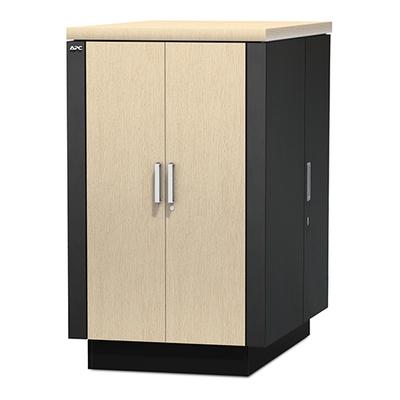 APC NetShelter CX 24U Geluiddempende en geventileerde 'Server Room in a Box' Rack - Grijs