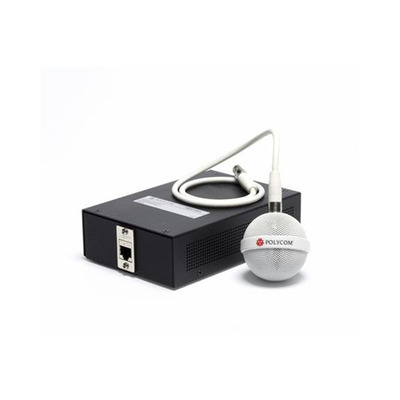POLY 2200-23809-002 Microfoon - Zwart, Wit