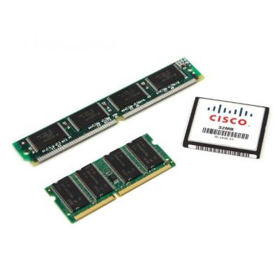 Cisco networking equipment memory: 4GB DRAM