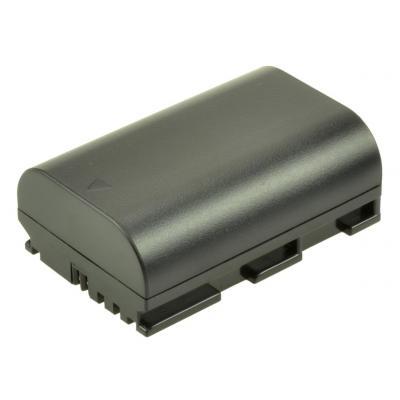 2-Power Digital Camera Battery 7.4V 1400mAh - Zwart