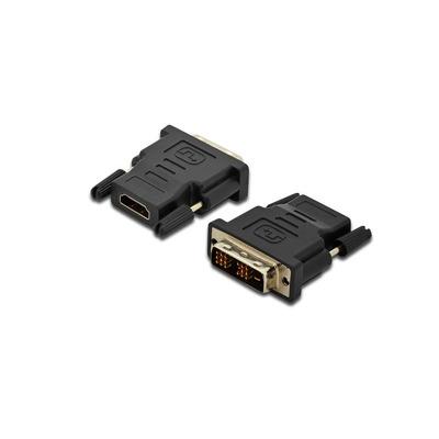 Digitus DVI-D/HDMI A Kabel adapter - Zwart