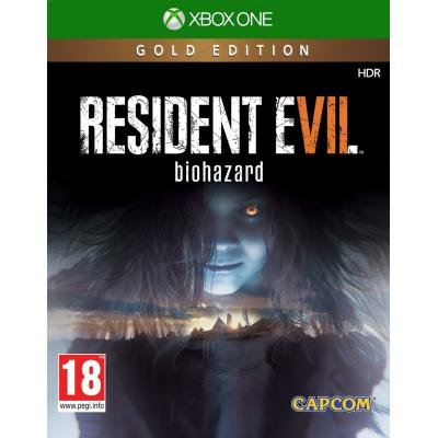 Capcom game: Resident Evil 7: Biohazard (Gold Edition)  Xbox One