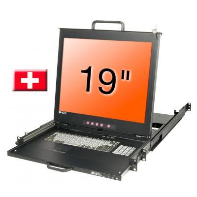 Lindy 21624 Rack console - Zwart