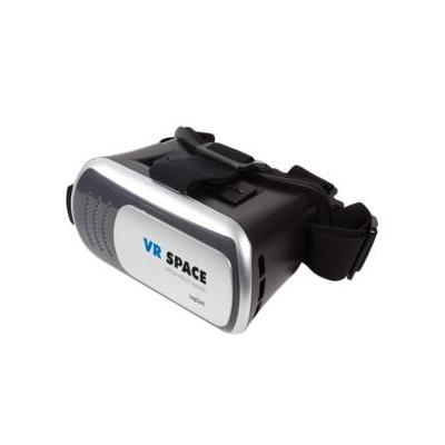 "Logilink virtual reality bril: 4""–6"", 195 x 135 x 105 mm, 80-90°, 412 g, Black/silver - Zwart, Zilver"