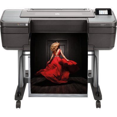Hp grootformaat printer: Designjet Z9 - Zwart, Grijs