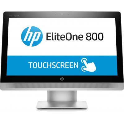 Hp all-in-one pc: EliteOne 800 G2 - Zwart, Zilver (Renew)