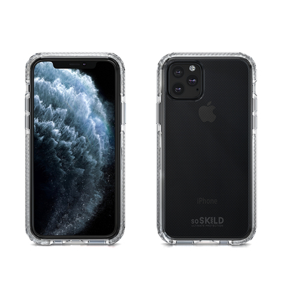 SoSkild iPhone 11 Pro Hoesje Defend Heavy Impact Case Transparant Mobile phone case