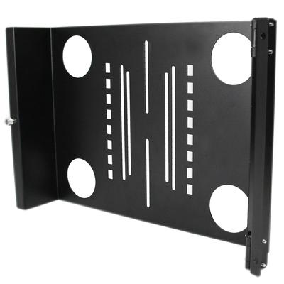 StarTech.com Universele Zwenkbare VESA LCD Montagebeugel voor 19 inch Serverrack of Serverkast Rack .....