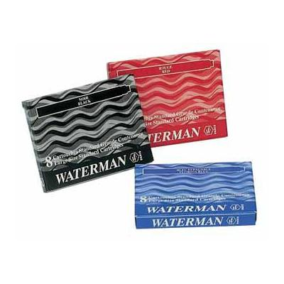 Waterman inktvulling: INKTPATR BLW PK 8X