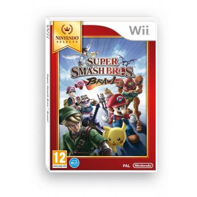 Nintendo game: Super Smash Bros. Brawl (Select)  Wii