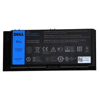 Dell batterij: 97 WH, 9-Cell, 505 g - Zwart