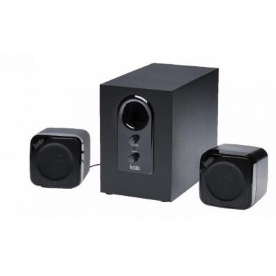 Hercules luidspreker set: 2.1 Cube - Zwart