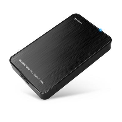 Sharkoon QuickStore Portable Pro USB 3.0 Behuizing - Zwart