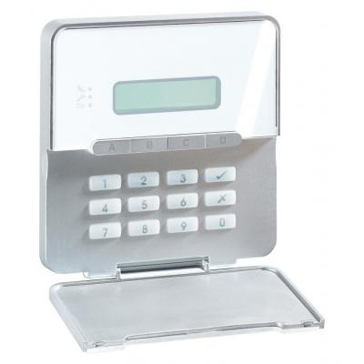 Abus toegangscontrolesystem: LCD-Keypad for Terxon SX/MX - Wit