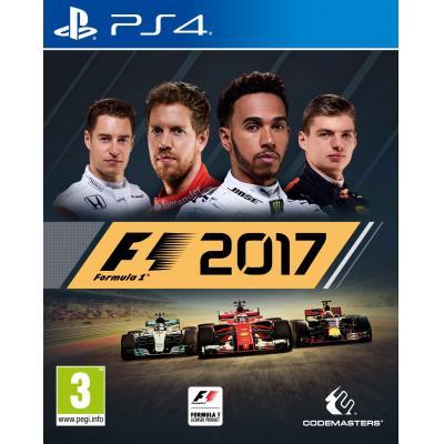 Codemasters game: Formula 1 (F1 2017)  PS4