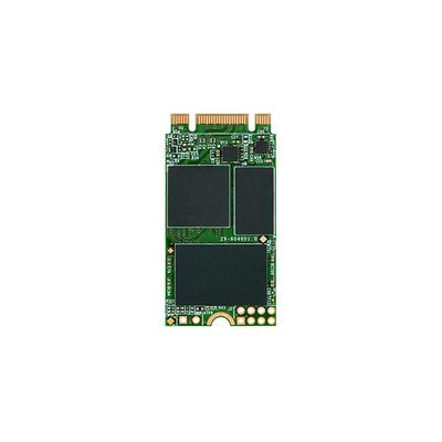 Transcend MTS420 SSD - Zwart, Groen
