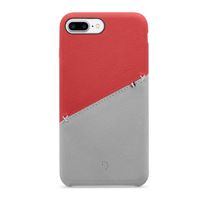 Decoded Leather Snap-On Case for iPhone 7 Plus Mobile phone case - Rood