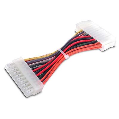 StarTech.com 15cm 20-pins Moederbord naar 24-pins ATX-voeding Adapter M/F - Multi kleuren