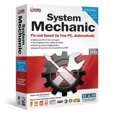 Iolo systeembeheer tools: System Mechanic