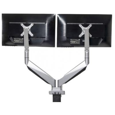 BakkerElkhuizen Smart Office 12 Monitorarm - Metallic