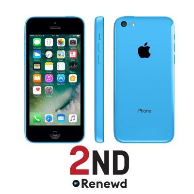 2nd by renewd smartphone: Apple iPhone 5C refurbished door 2ND - 16GB Blauw (Refurbished AN)