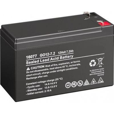 CoreParts MBXLDAD-BA016 UPS batterij - Zwart