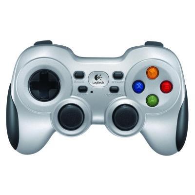 Logitech game controller: F710 - Zwart, Zilver
