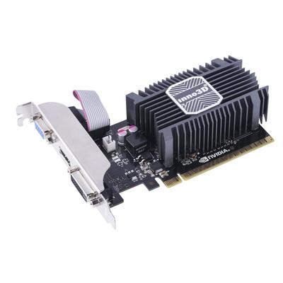 Inno3D N730-1SDV-E3BX Videokaart - Zwart, Zilver
