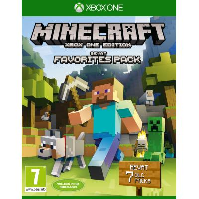 Microsoft game: Minecraft (Favorites Pack)  Xbox One