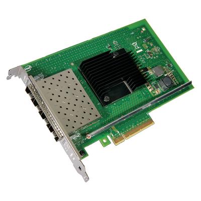 Lenovo Intel X710-DA4 4 x 10Gb SFP+ Adapter Netwerkkaart - Groen