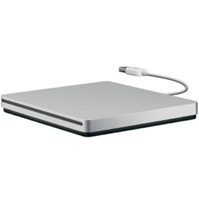 Apple USB SuperDrive Brander - Zilver
