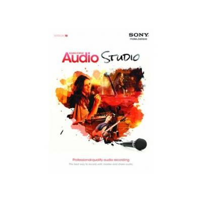 Sony audio software: Sound Forge Audio Studio 10