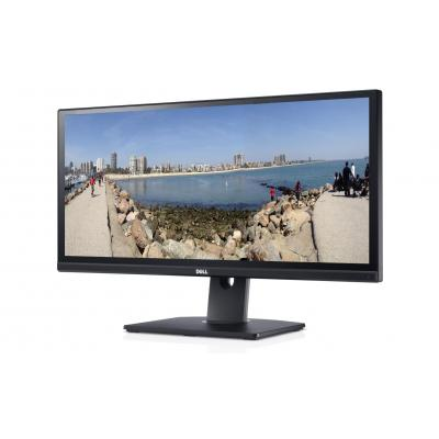 "DELL monitor: UltraSharp UltraSharp 29"" AH-IPS Monitor met LED verlichting - Zwart"