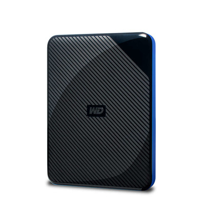 Western Digital WDBDFF0020BBK-WESN Externe harde schijf - Zwart, Blauw